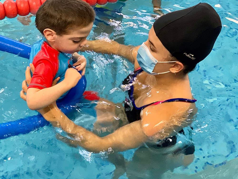 Fisioterapia acuática para niños en Zaragoza